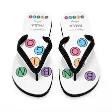 Paula BINGO Flip Flops