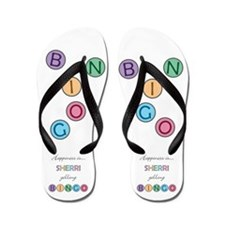 Sherri BINGO Flip Flops