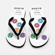 Willie BINGO Flip Flops