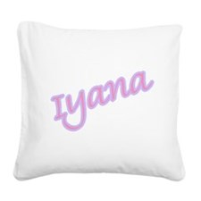 iyana copy.jpg Square Canvas Pillow