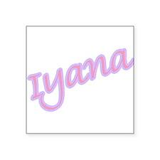 "iyana copy.jpg Square Sticker 3"" x 3"""