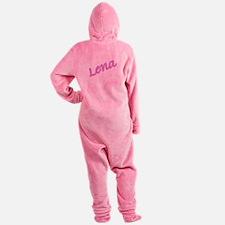 LENA copy.jpg Footed Pajamas