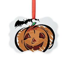 bat-n-pumpkin.png Ornament