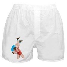 Stylized Wrestling Boxer Shorts