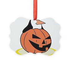 pumpkin,penguin.png Ornament