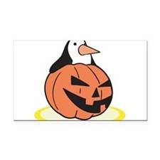 pumpkin,penguin.png Rectangle Car Magnet