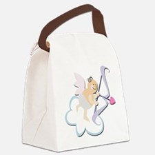 Cute Cupid Baby Canvas Lunch Bag