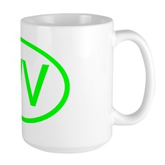 WV Oval - West Virginia Mug
