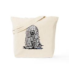 Puli Dog Tote Bag