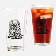 Puli Dog Drinking Glass