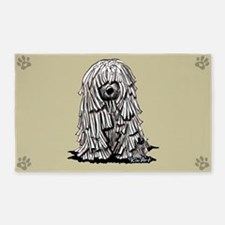 Puli Dog 3'x5' Area Rug