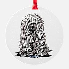 Puli Dog Ornament
