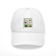 Christmas Birds Baseball Cap