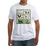 Christmas Birds Fitted T-Shirt