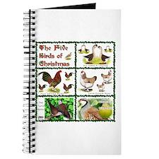 Christmas Birds Journal