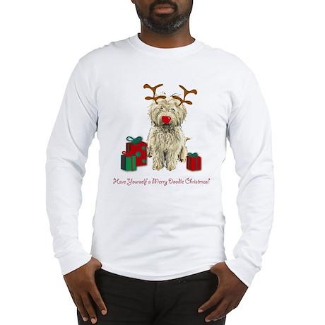 Merry Doodle Christmas Long Sleeve T-Shirt