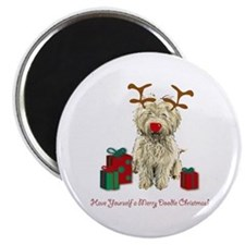 Merry Doodle Christmas Magnet