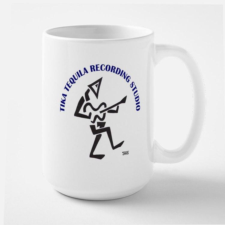 Tika Tequila's Large Mug Mugs