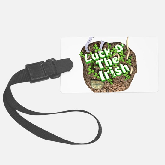 luck-o-the-irsih3d.png Large Luggage Tag