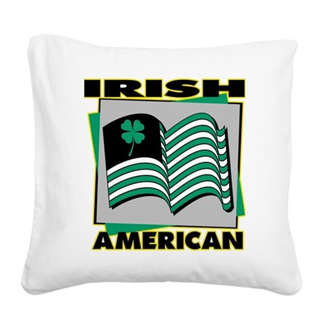 irish-american,png.png Square Canvas Pillow