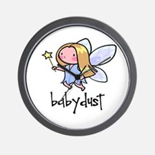 Baby Dust Fairy Wall Clock
