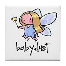 Baby Dust Fairy Tile Coaster