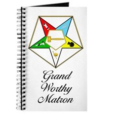 Grand Worthy Matron Journal