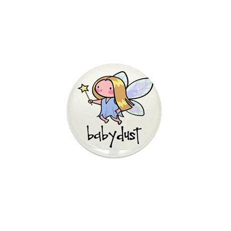 Baby Dust Fairy Mini Button (100 pack)