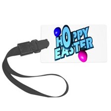 hoppy-easter-n-eggs.png Luggage Tag
