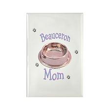 Beauceron Mom Rectangle Magnet
