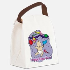 happy new yr baby.jpg Canvas Lunch Bag