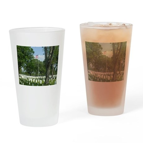 Cost of Freedom Drinking Glass