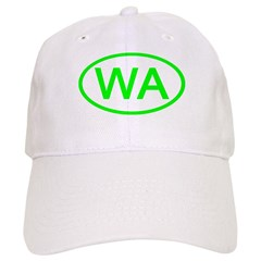 WA Oval - Washington Baseball Cap