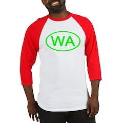 WA Oval - Washington Baseball Jersey