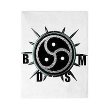 Spiked Collar BDSM Symbol Twin Duvet