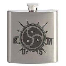 Spiked Collar BDSM Symbol Flask