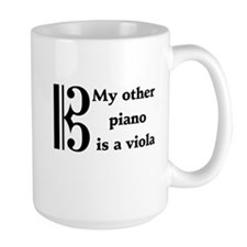 My Other Piano Is A Viola Mug