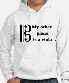My Other Piano Is A Viola Hoodie