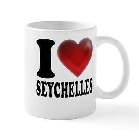 I Heart Seychelles Mug