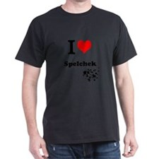 I Heart Spelchek T-shirt T-Shirt