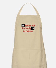 65 year old designs Apron