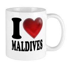 I Heart Maldives Mug