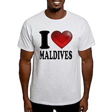 I Heart Maldives T-Shirt