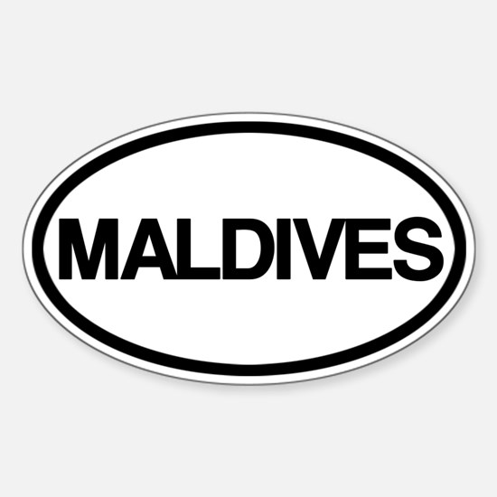 Maldives Decal