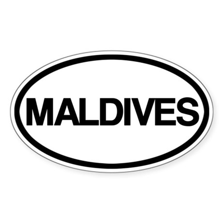Maldives Sticker
