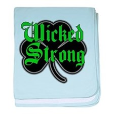 Wicked Strong baby blanket