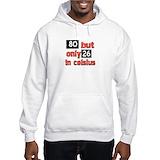 80th birthday Hooded Sweatshirts