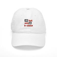 80 year old designs Baseball Cap