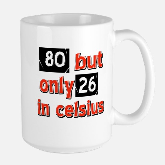 80 year old designs Large Mug