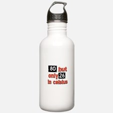 80 year old designs Water Bottle